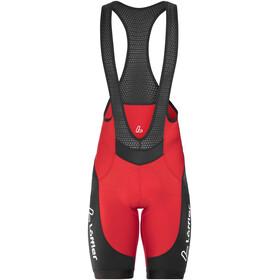 Löffler Winner Bib Shorts Men red/black